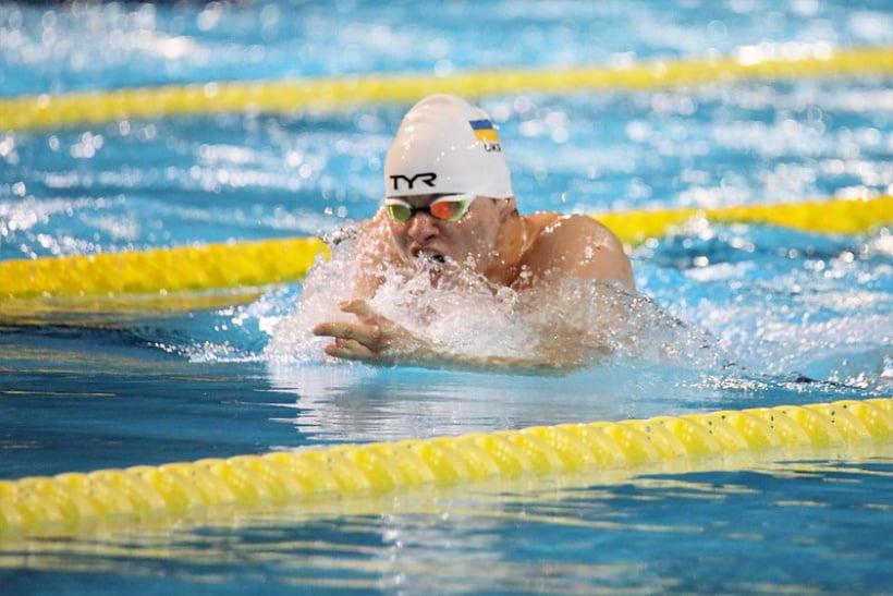 Паралімпійський плавець з Донеччини Андрій Трусов