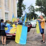 У Сіверській громаді провели автопробіг до 30-ї річниці Незалежності (ФОТО)