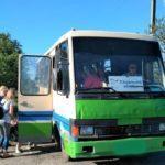Мешканців прифронтових громад знову возитимуть безкоштовні автобуси благодійників (РОЗКЛАД)