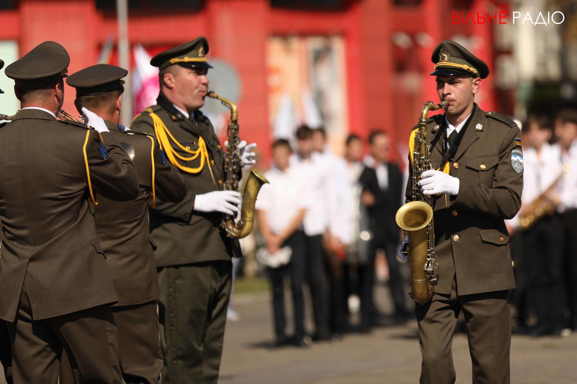 військовий оркестр в Бахмуті