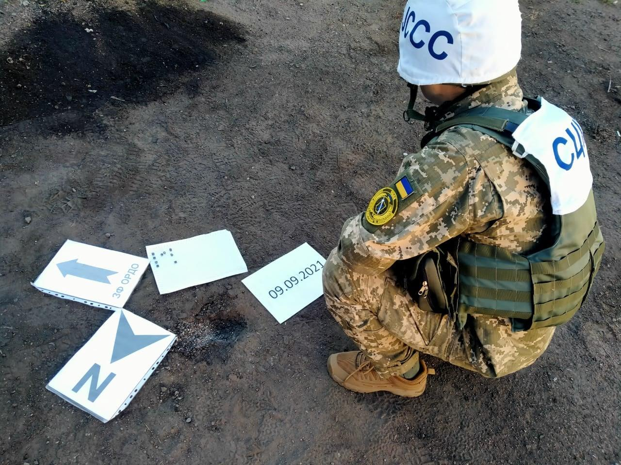Бойовики обстріляли з мінометів околиці Мар'їнки на Донеччині