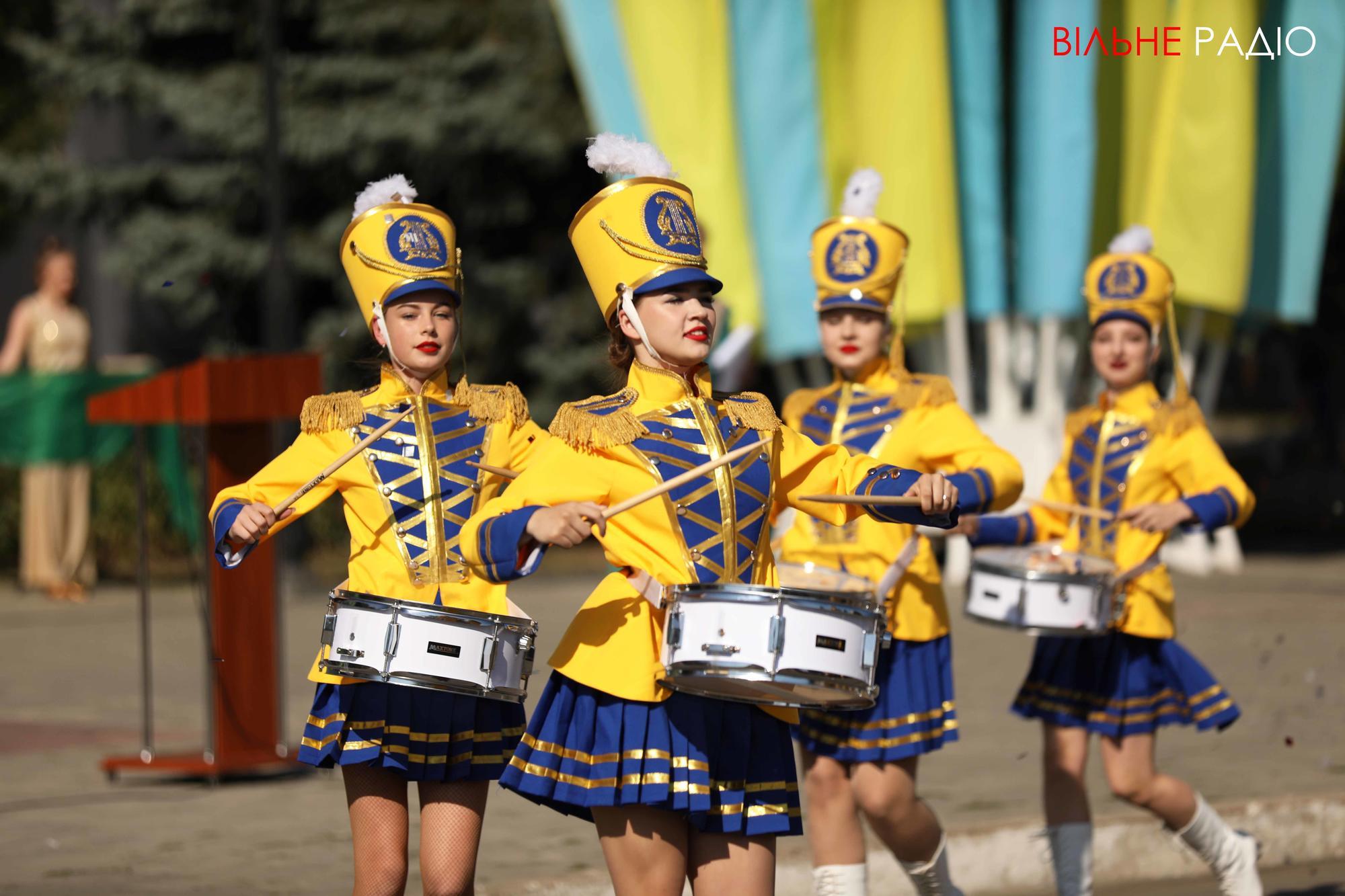 оркестр на День міста Бахмут на Донеччині