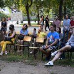 12 художников со всей страны провели в Бахмуте выставку современного искусства (ФОТО)
