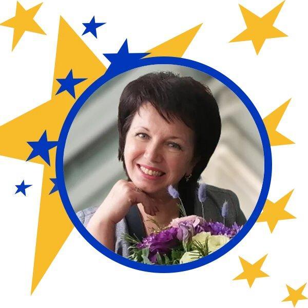 вчителька Елла Даниліна з Українська