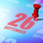 26 вересня: свята і події. Цей день в історії