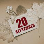 20 вересня: свята і події. Чим запам'ятався цей день в історії