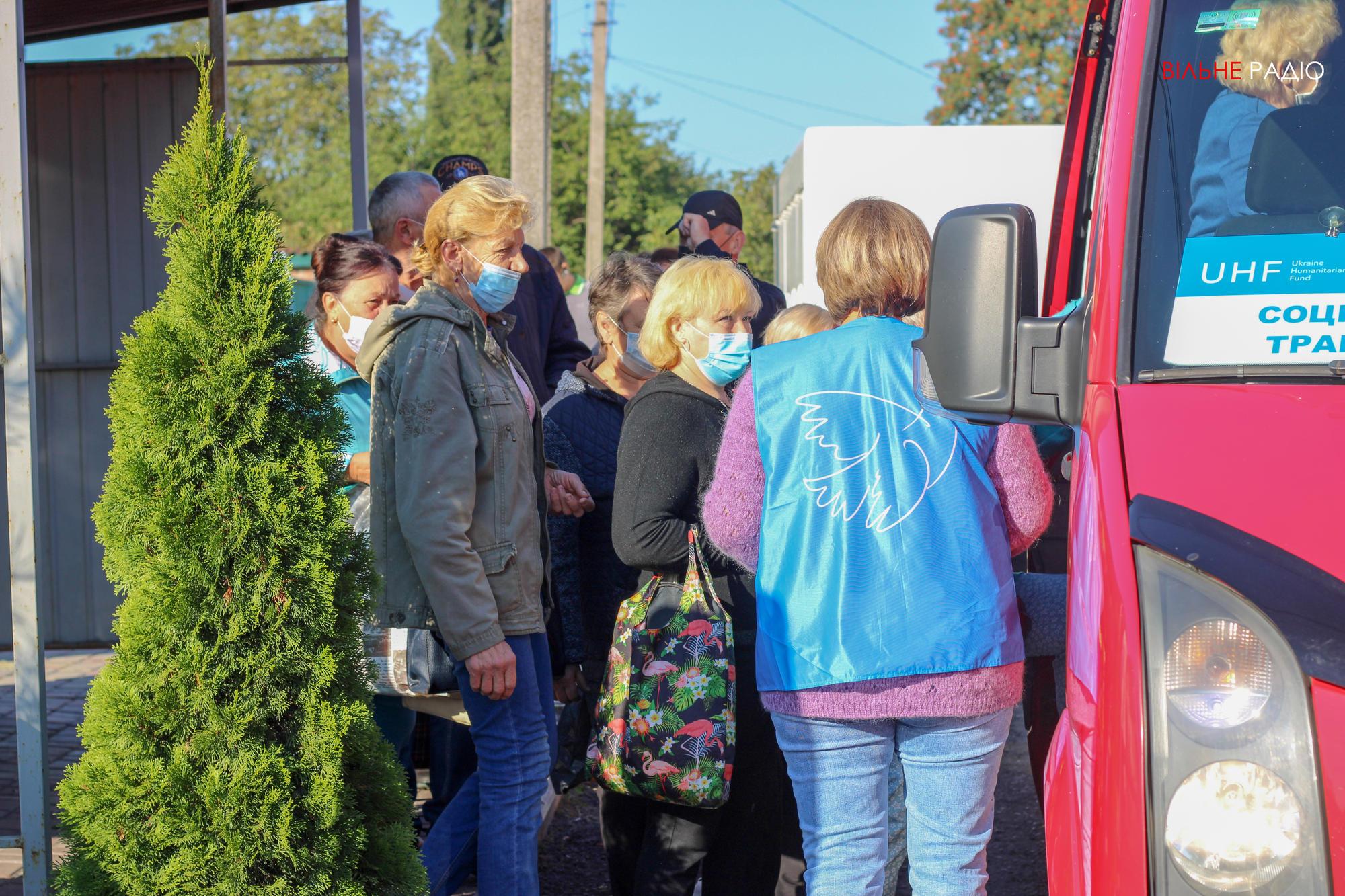В Майорске запустили бесплатный автобус