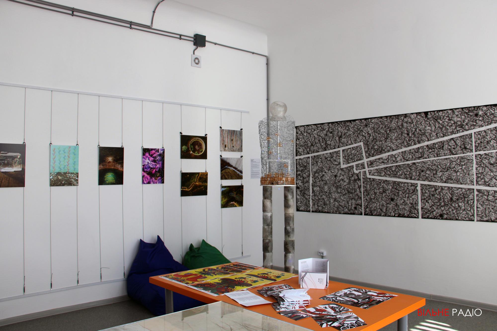 У Соледарі провели виставку сучасного мистецтва