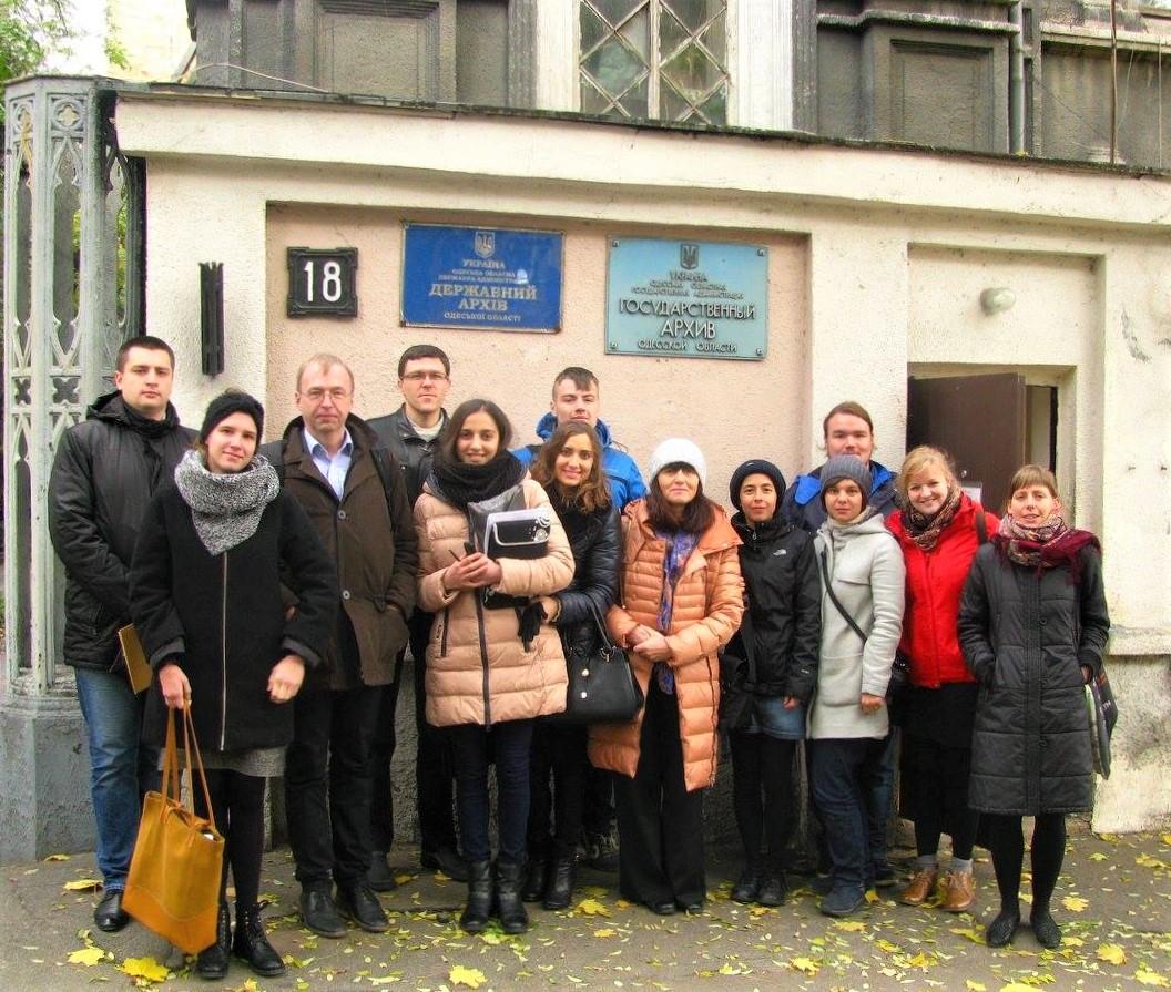 историки в Одессе архив