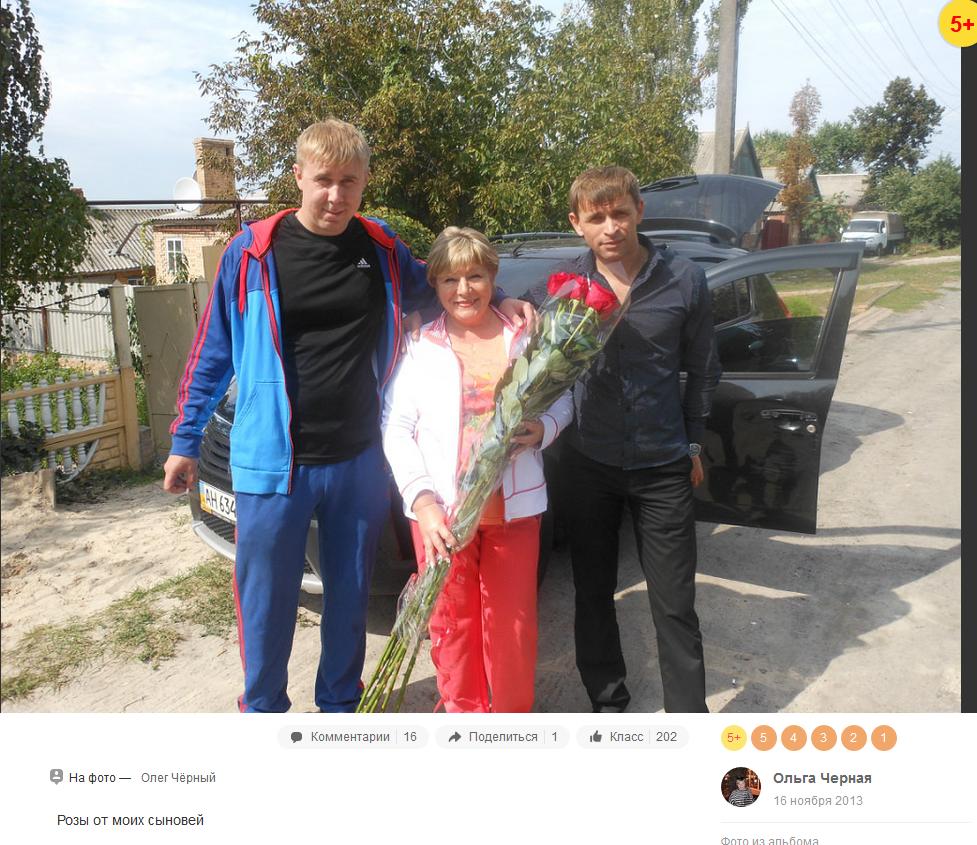 Ольга Чорна та Велес в Артемівську сепаратисти