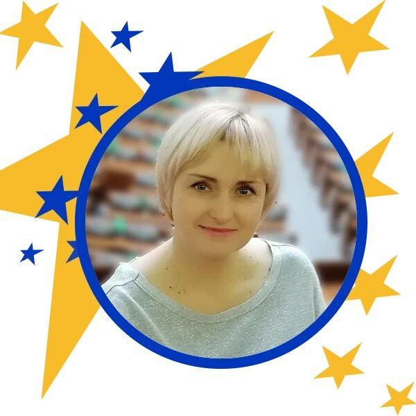 вчителька Наталя Сковородкіна з Білозерська