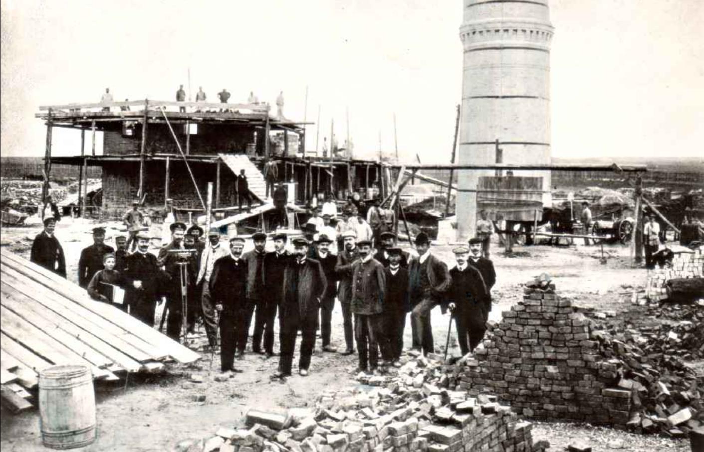 строительство СКМЗ в 19 веке