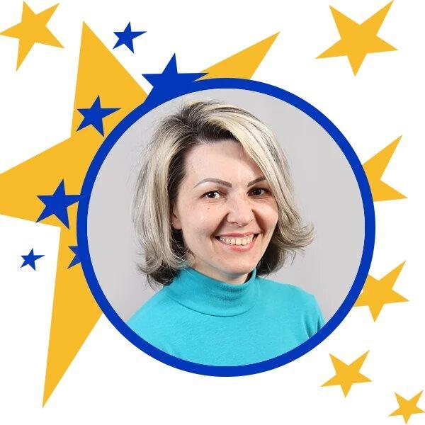 учитель из Торецкой громады Елена Седакова