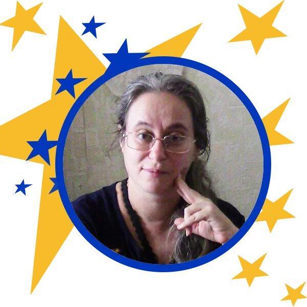 вчителька Тамара Уманська з Кремінної