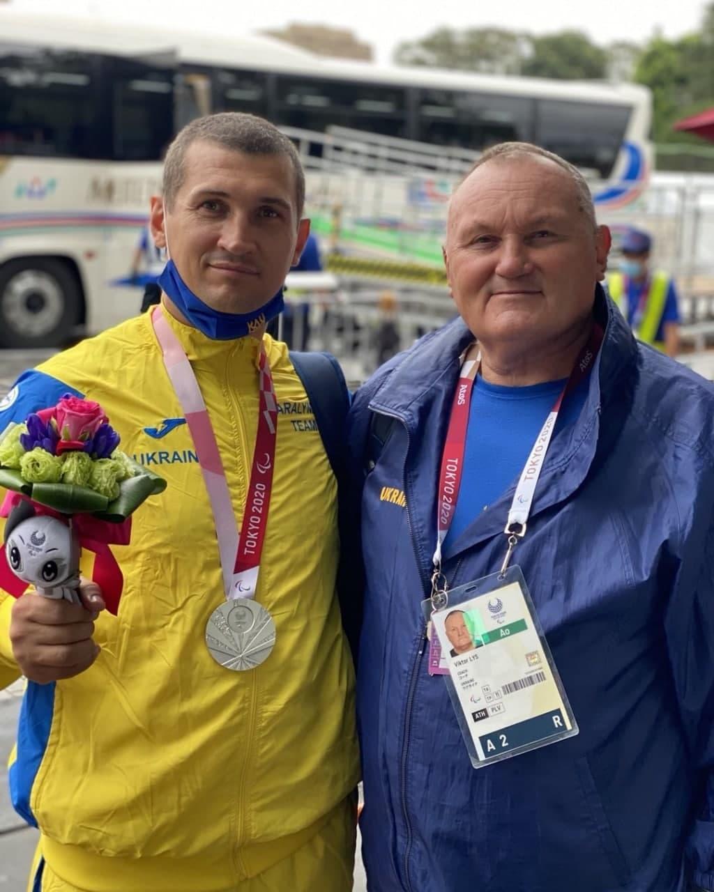 Спортсмен з Бахмута Микола Жабняк