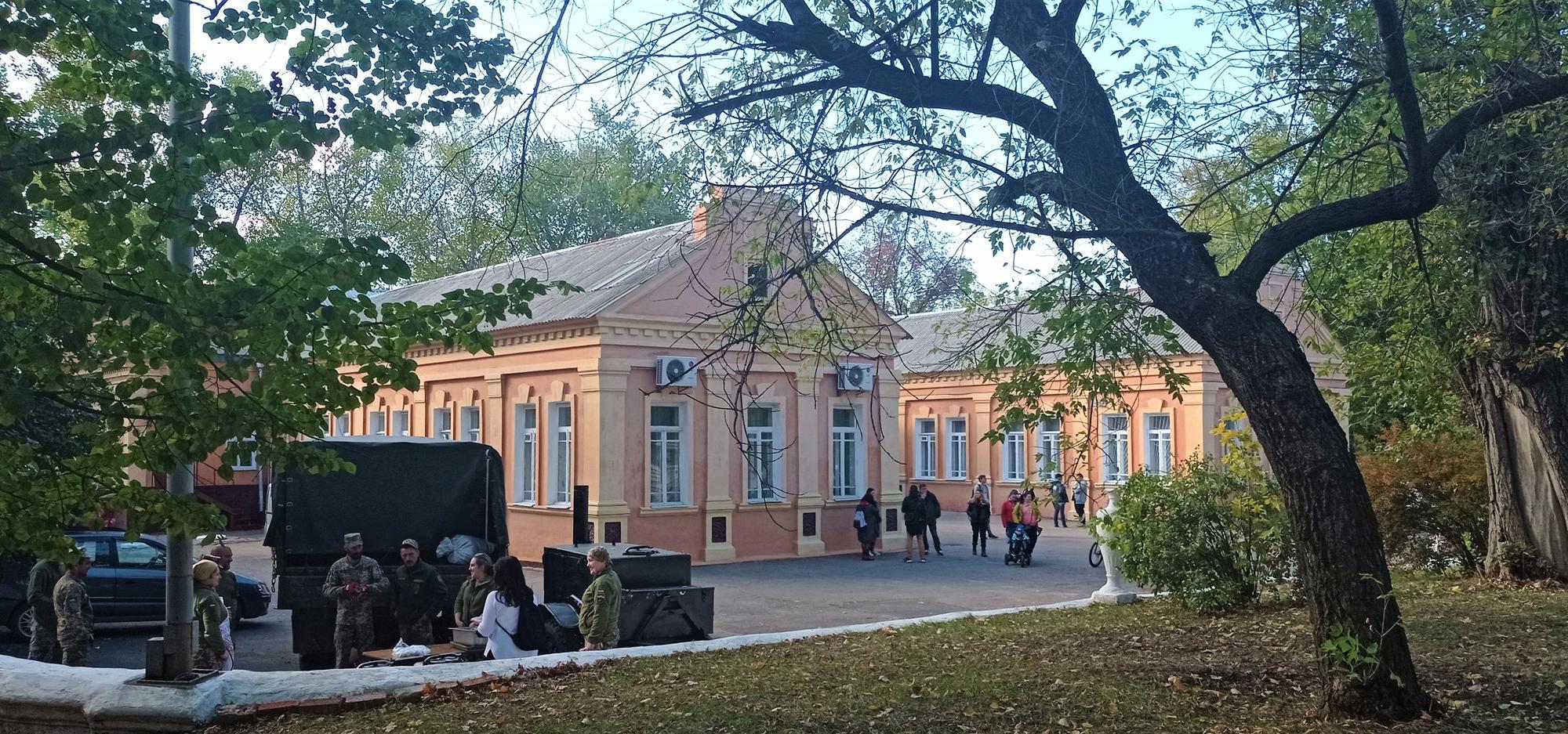 палац культури Фенольний у Нью-Йорку військова каша