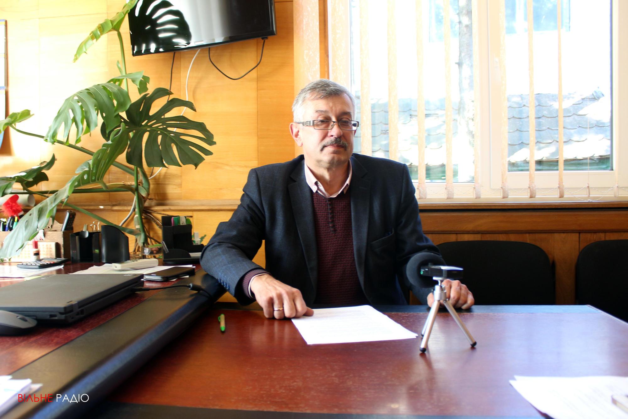 Начальник Донецького управління лісового та мисливського господарства Віктор Стороженко