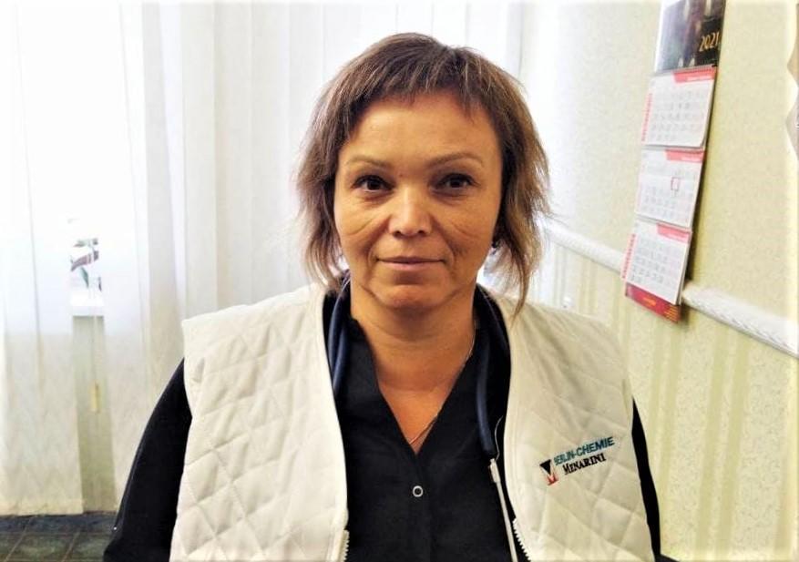 Юлія Кашик лікарка з Покровська