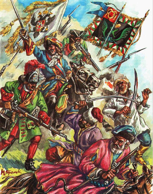 придушення Булавинського повстання